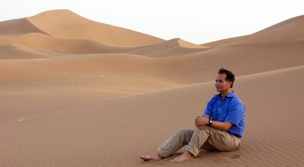 Experimental Traveler Sahara Desert