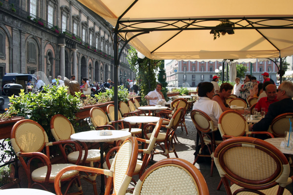Caffe Gambrinus Outdoor Cafe Area