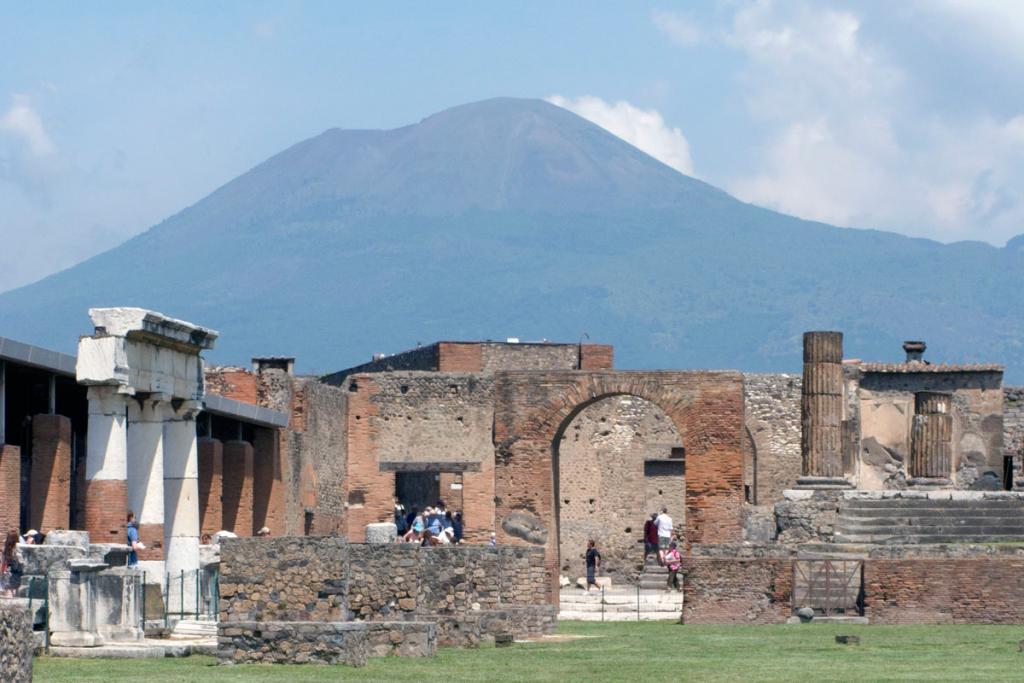 Vesuvius from Pompeii