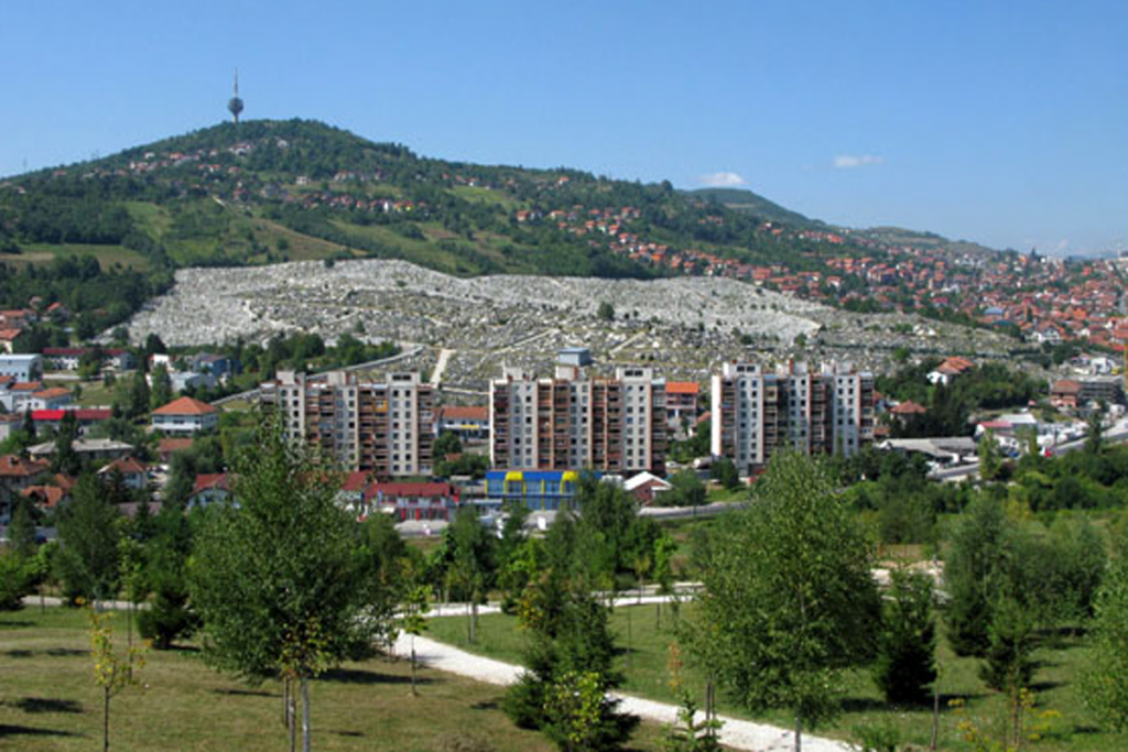Siege of Sarajevo - Cemetery