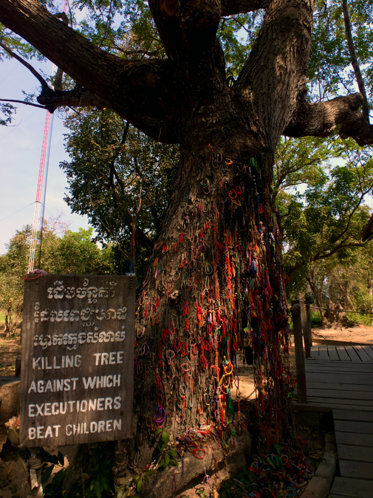 Killing Fields of Cambodia - KIlling Tree