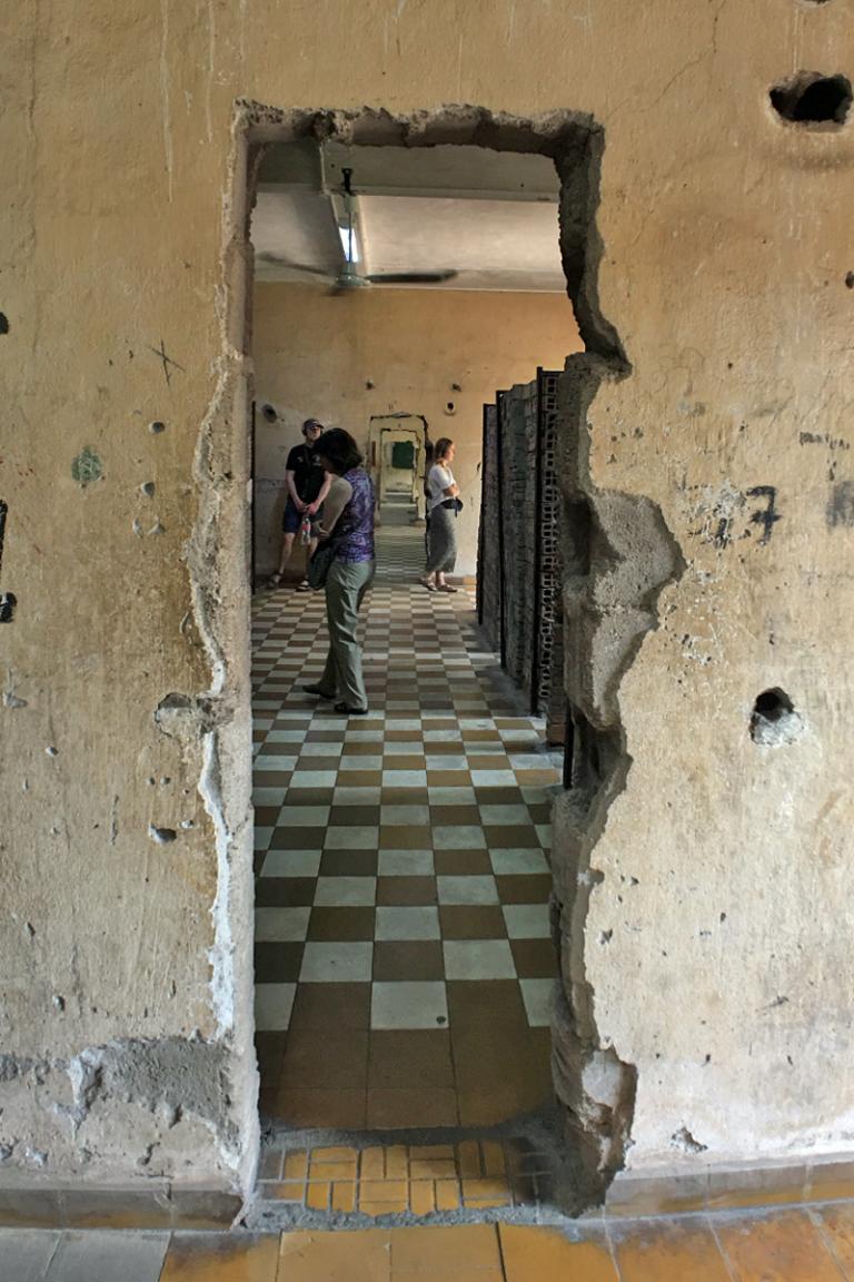 Killing Fields of Cambodia - Prison Cells