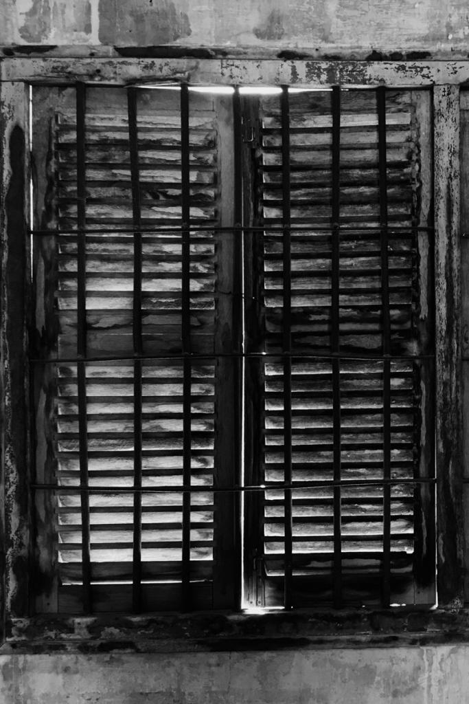 Killing Fields of Cambodia - Prison Window